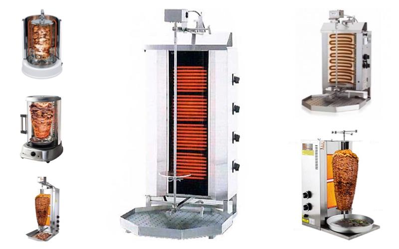 Características principales de los asadores de Kebab