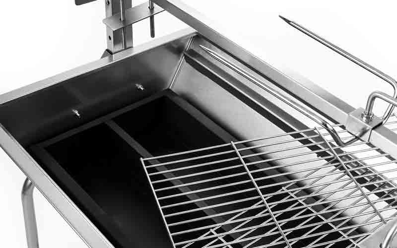 Características del asador ideal